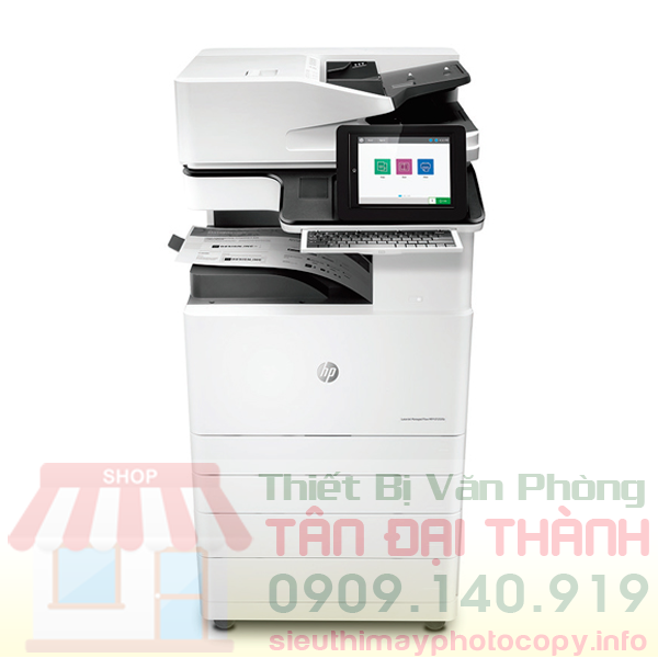 May Photocopy HP LaserJet Managed MFP E72535dn - Trang chủ