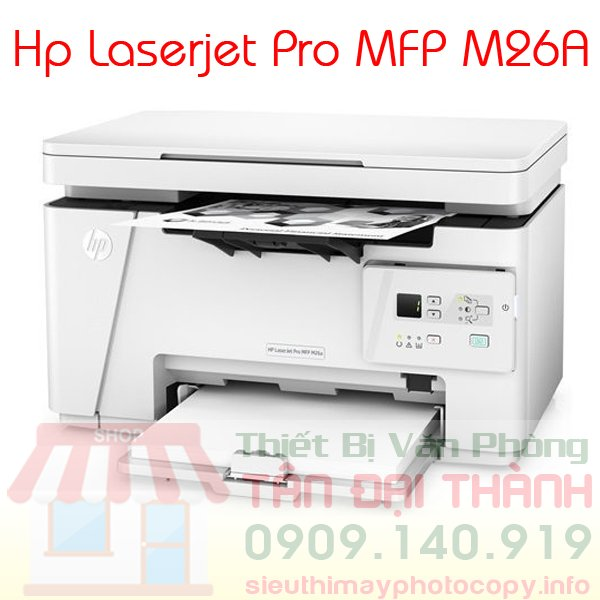 May in Hp Laserjet Pro MFP M26A - Trang chủ
