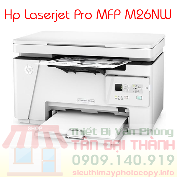 May in Hp Laserjet Pro MFP M26NW - Trang chủ