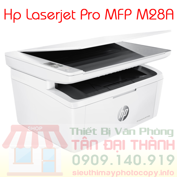 May in Hp Laserjet Pro MFP M28A - Trang chủ