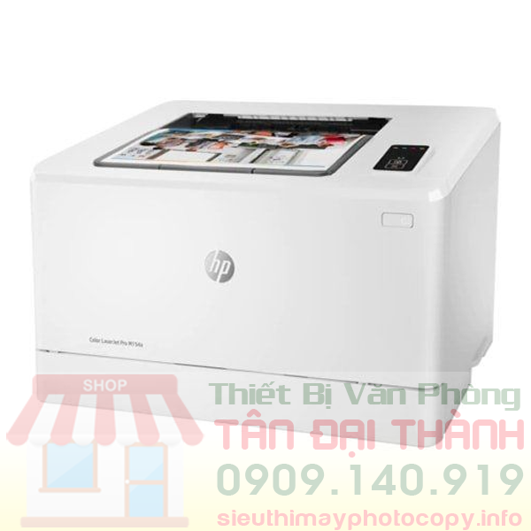 May in mau HP Color LaserJet Pro M154A - Trang chủ