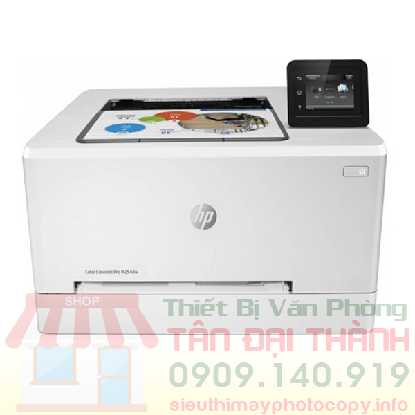 May in mau HP Color LaserJet Pro M254DN - Trang chủ