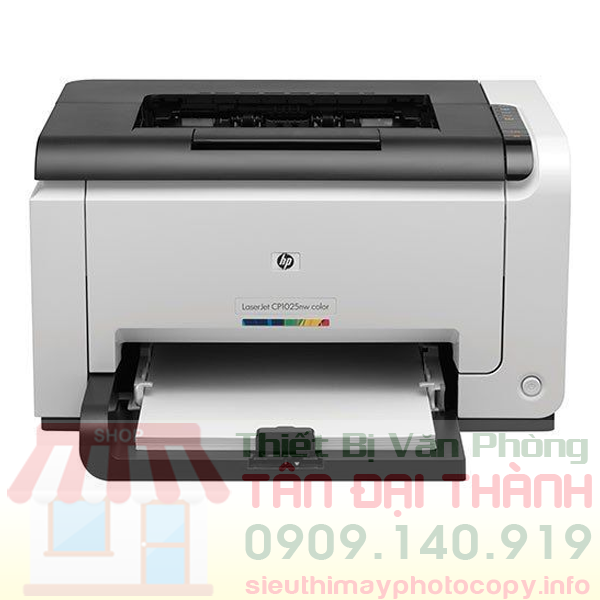 May in mau Hp Color Laserjet CP 1025 - Trang chủ