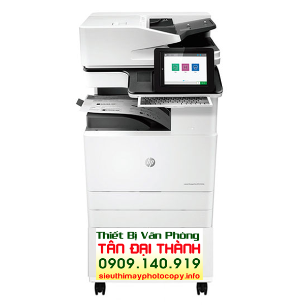 May photocopy HP LaserJet Managed MFP E72525Z 600x600 - Máy photocopy HP LaserJet Managed MFP E72525dn