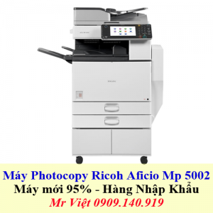 May Photocopy Ricoh Aficio Mp 5002 300x300 - Máy Photocopy Ricoh Aficio MP 5002