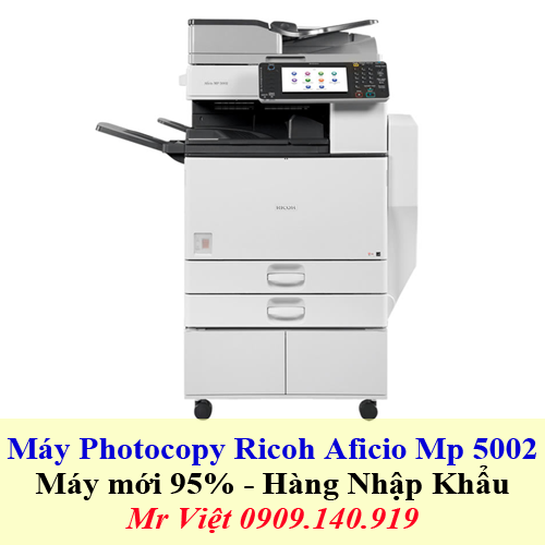 May Photocopy Ricoh Aficio Mp 5002 - Trang chủ