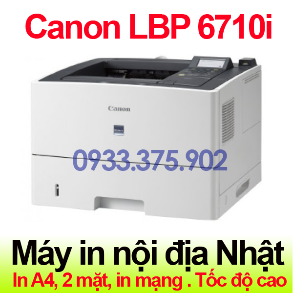 May in canon lbp 6710i - Trang chủ